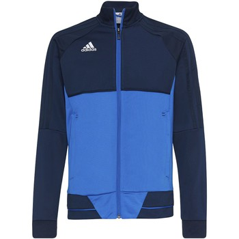 Textiel Jongens Trainings jassen adidas Performance Tiro17 Training Jack Donkerblauw / Blauw / Wit