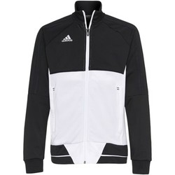 Textiel Jongens Trainings jassen adidas Originals Tiro17 Training Jack Noir / Blanc