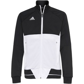 Textiel Jongens Trainings jassen adidas Performance Tiro17 Training Jack Zwart / Wit