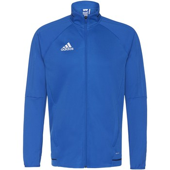 Textiel Heren Trainings jassen adidas Performance Tiro17 Training Jack Blauw / Donkerblauw / Wit