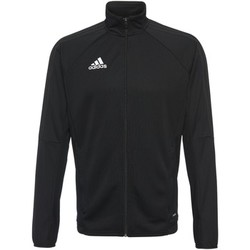 Textiel Heren Trainings jassen adidas Performance Tiro17 Training Jack Zwart / Wit