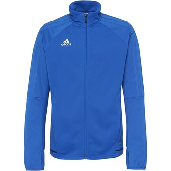 Textiel Jongens Trainings jassen adidas Performance Tiro17 Trainingsjack Blauw / Donkerblauw / Wit