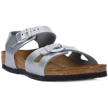 Schoenen Dames Sandalen / Open schoenen Birkenstock RIO SILVER Argento