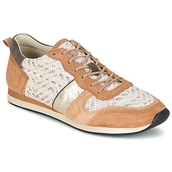 Schoenen Dames Lage sneakers Bocage LANNY Cognac / Wit