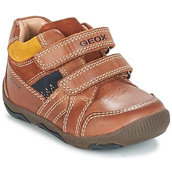 Schoenen Jongens Lage sneakers Geox B N.BALU' B. B Bruin
