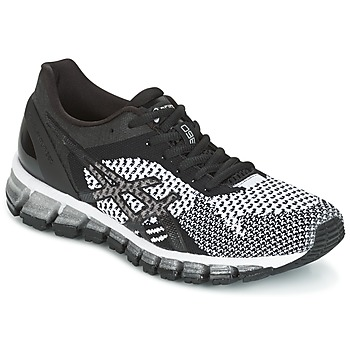 Schoenen Dames Running / trail Asics GEL-QUANTUM 360 KNIT Zwart / Wit