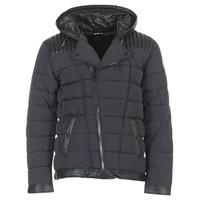 Textiel Heren Dons gevoerde jassen Le Temps des Cerises BEND Zwart