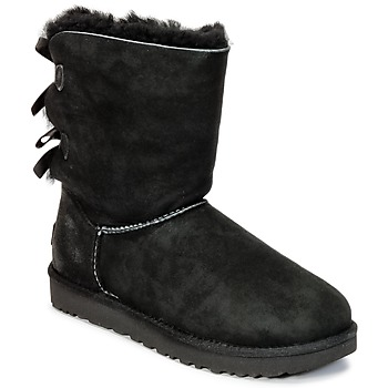 Schoenen Dames Laarzen UGG BAILEY BOW II Zwart
