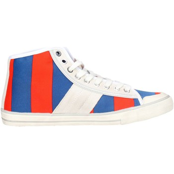 Schoenen Dames Lage sneakers Date TENDER HIGH-94 Blue/Orange