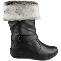 Schoenen Dames Snowboots Calzamedi LAARS  0646 NEGRO