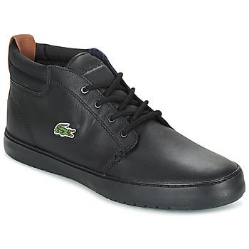 Schoenen Heren Hoge sneakers Lacoste AMPTHILL TERRA Zwart