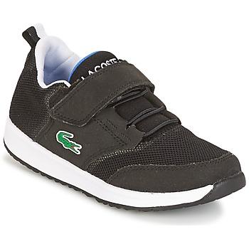 Schoenen Kinderen Lage sneakers Lacoste L.IGHT Zwart / Grijs