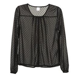 Textiel Dames Overhemden Vero Moda STORIES Zwart