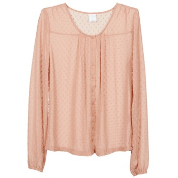 Textiel Dames Tops / Blousjes Vero Moda STORIES Roze