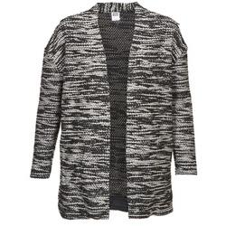 Textiel Dames Vesten / Cardigans Vero Moda NELLA Zwart / Grijs / Gevlekt