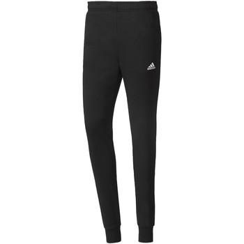 Textiel Heren Trainingsbroeken adidas Performance Essentials French Terry Broek Zwart / Wit