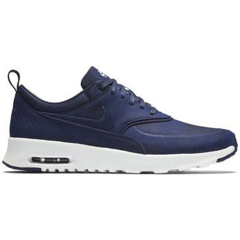 Schoenen Dames Lage sneakers Nike Air Max Thea Marineblauw-Wit