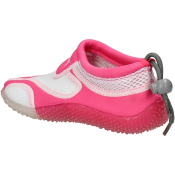 Schoenen Meisjes Sneakers Everlast sneakers bianco tessuto rosa gomma AF851 Multicolore