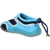 Schoenen Jongens Sneakers Everlast sneakers blu tessuto celeste gomma AF852 Multicolore