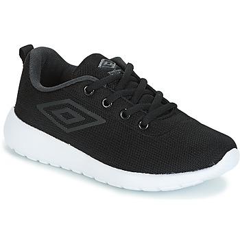 Schoenen Jongens Lage sneakers Umbro DENFORD Zwart