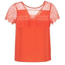 Textiel Dames Tops / Blousjes Moony Mood GERDUS OranJe