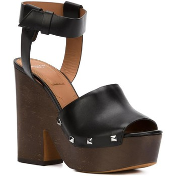 Schoenen Dames Klompen Givenchy BE08749004 001 nero
