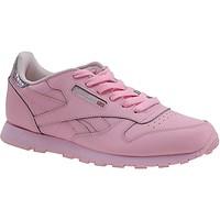 Schoenen Kinderen Sneakers Reebok Sport Classic Leather Metallic Rose