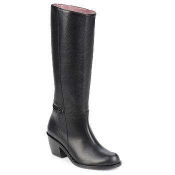 Schoenen Dames Hoge laarzen Robert Clergerie ALCOR Zwart