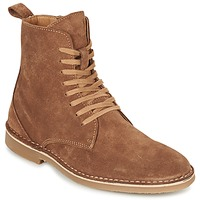 Schoenen Heren Laarzen Selected ROYCE HIGH Cognac