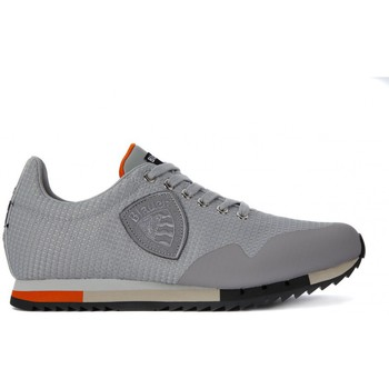 Schoenen Heren Lage sneakers Blauer NEW RUN MESH SILVER    111,4
