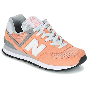 Schoenen Dames Lage sneakers New Balance WL574  Perzik