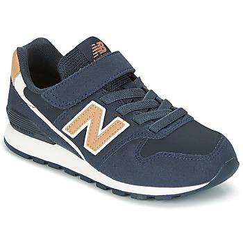 Schoenen Kinderen Lage sneakers New Balance KV996 Marine / Wit