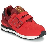 Schoenen Kinderen Lage sneakers New Balance KV575 Rood / Zwart
