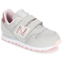 Schoenen Meisjes Lage sneakers New Balance KV373 Grijs / Roze