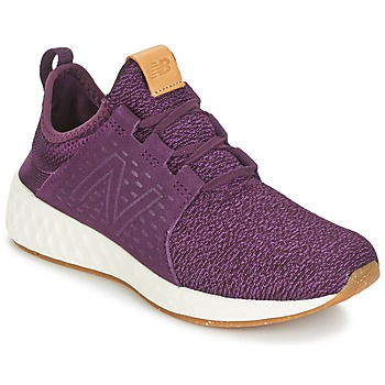 Schoenen Dames Running / trail New Balance CRUZ Bordeau