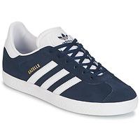 Schoenen Kinderen Lage sneakers adidas Originals GAZELLE J Marine