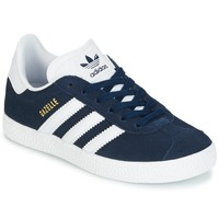 Schoenen Jongens Lage sneakers adidas Originals Gazelle C Marine