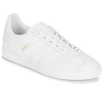 Schoenen Kinderen Lage sneakers adidas Originals GAZELLE J Wit