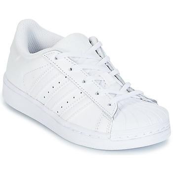 Schoenen Kinderen Lage sneakers adidas Originals SUPERTSAR Wit