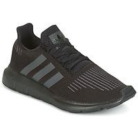 Schoenen Kinderen Lage sneakers adidas Originals SWIFT RUN J Zwart