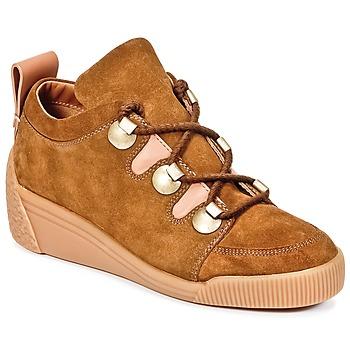 Schoenen Dames Lage sneakers See by Chloé FLAVI Bruin