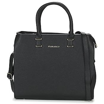 Tassen Dames Handtassen kort hengsel Nanucci  Zwart