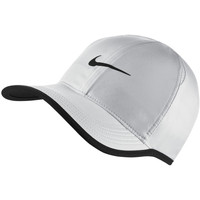 Accessoires Pet Nike AeroBill Featherlight Tennis Cap Wit