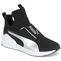 Schoenen Dames Hoge sneakers Puma FIERCE core Zwart