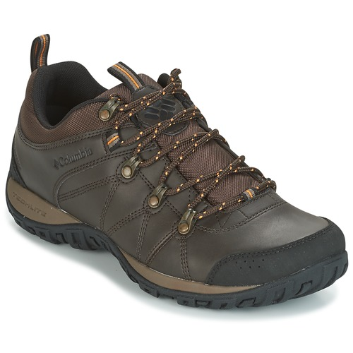 Schoenen Heren Allround Columbia PEAKFREAK VENTURE WATERPROOF Bruin