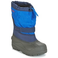 Schoenen Kinderen Snowboots Columbia YOUTH POWDERBUG™ PLUS II Marine