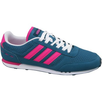 Schoenen Dames Lage sneakers adidas Originals City Racer W Wit