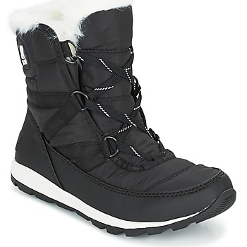 Schoenen Dames Snowboots Sorel WHITNEY SHORT LACE Zwart