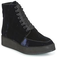 Schoenen Dames Laarzen Castaner FORTALEZA Blauw