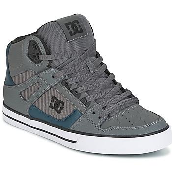 Schoenen Heren Hoge sneakers DC Shoes SPARTAN HIGH WC Grijs / Groen